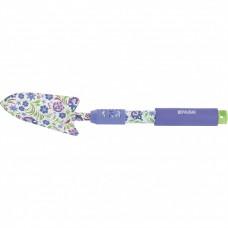 Совок посадочный широкий, 85 х 400 мм, стальной, удлиненная рукоятка, Flower Mint, Palisad