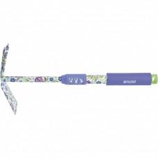 Мотыжка комбинированная, 70 х 385 мм, стальная, удлиненная рукоятка, Flower Mint, Palisad