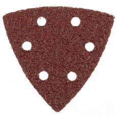 Треугольник абразивный на ворсовой подложке под