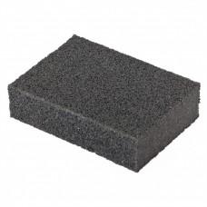 Губка для шлифования, 100 х 70 х 25 мм, мягкая, P 100 Matrix