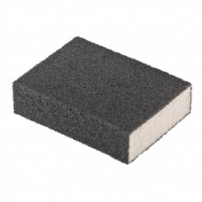 Губка для шлифования, 100 х 70 х 25 мм, средняя плотность, P 80 Matrix