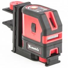 Уровень лазерный ML03, 10 м ± 0,5 мм. /1 м, 635нм, 1 вертикальная, 1 горизонтальная плоскость, подставка магнитная Matrix