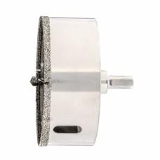 Сверло алмазное по керамограниту, 100 х 67 мм, трехгранный хвостовик Matrix