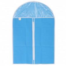 Чехол для хранения одежды на молнии, нетканый материал, ПВХ, 60 х 90 см Elfe