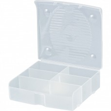 Блок для мелочей, 14 x 13 см, прозрачный матовый Сибртех
