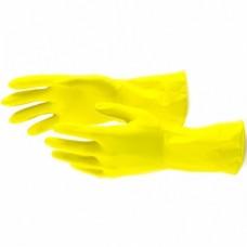 Перчатки хозяйственные латексные, L, Сибртех