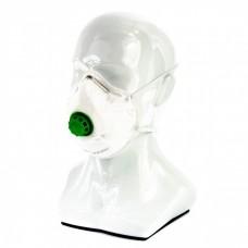 Полумаска фильтрующая (респиратор), формованная, с клапаном выдоха, FFP2 Россия Сибртех