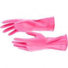 Перчатки хозяйственные латексные, L, Elfe