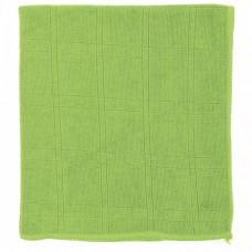 Салфетка из микрофибры для кухни зеленая 350 х 400 мм Elfe