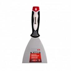 Шпательная лопатка из нержавеющей стали, 100 мм, трехкомпонентная ручка Matrix