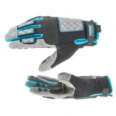 Перчатки универсальные комбинированные DeLuxe, L Gross