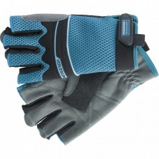 Перчатки комбинированные облегченные, открытые пальцы, Aktiv, XL Gross
