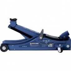 Домкрат гидравлический подкатной в пластиковом кейсе, 2 т, Low Profile, 80-380 мм Stels