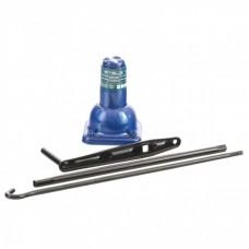 Домкрат механический бутылочный, 2 т, h подъема 160–325 мм, 2 части (домкрат, ручка) Stels