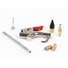 Набор продувочный пистолет, пневмат. в комплекте с насадками, 6 шт Matrix