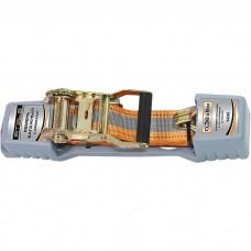Ремень багажный с крюками, 0,038 х 5 м, храповой механизм Automatic Stels