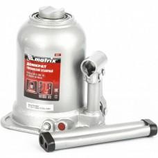 Домкрат гидравлический бутылочный телескопический, 10 т, подъем 180-450 мм Matrix