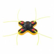 Головка триммерная универсальная гайка М10 х 1,25 левая Denzel