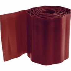 Бордюрная лента, 10 х 900 см, полипропиленовая, коричневая, Россия, Palisad