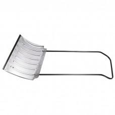 Движок для уборки снега алюминиевый, 750 х 420 х 1120 мм, усиленный, стальная рукоятка, Россия, Сибртех