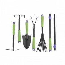 Набор садового инструмента, пластиковые рукоятки, 7 предметов, Connect, Palisad