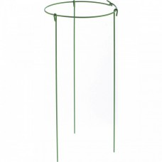 Опора для растений круглая, D 14 см, H 30 см, 5 шт, в упаковке, металл в пластике Palisad