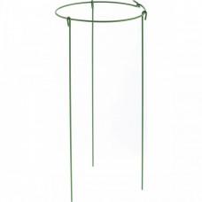 Опора для растений круглая, D 28 см, H 45 см, 3 шти в упаковке, металл в пластике Palisad