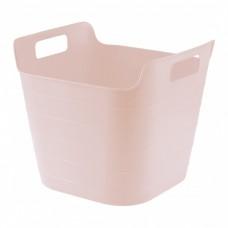 Ведро гибкое сверхпрочное, 26 л, розовое, Сибртех