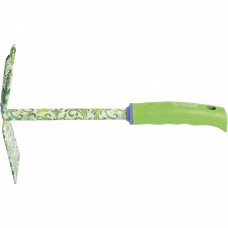 Мотыжка комбинированная, 70 х 300 мм, стальная, пластиковая рукоятка, Flower Green, Palisad