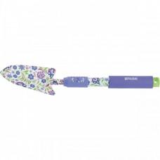 Совок посадочный узкий, 80 х 450 мм, стальной, удлиненная рукоятка, Flower Mint, Palisad