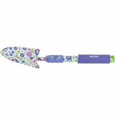 Совок посадочный широкий, 90 х 450 мм, стальной, удлиненная рукоятка, Flower Mint, Palisad