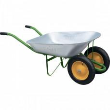 Тачка садовая, 2-х колесная, грузоподъемность 170 кг, объем 78 л Palisad