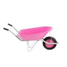 Тачка садовая, грузоподъемность 160 кг, объем 78 л, Pink Line Palisad