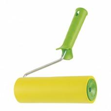 Валик прижимной резиновый с ручкой, 180 мм, D ручки 6 мм Сибртех