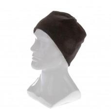 Шапка из флиса для взрослых, размер 58-59, черная Россия Сибртех