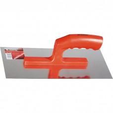 Гладилка из нержавеющей стали, 280 х 130 мм, зеркальная полировка, пластмассовая ручка Matrix
