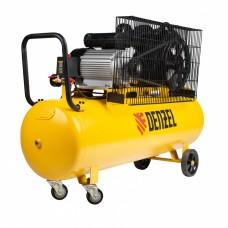 Компрессор воздушный BCV2300/100, ременный привод, 2,3 кВт, 100 литров, 440 л/мин Denzel