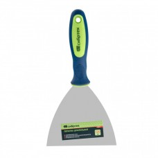 Шпательная лопатка из нержавеющей стали, 120 мм, двухкомпонентная ручка Сибртех