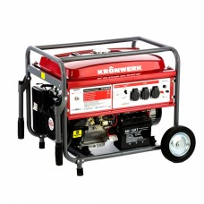 Генератор бензиновый LK 6500E, 5,5 кВт, 230 В, бак 25 л, электростартер Kronwerk