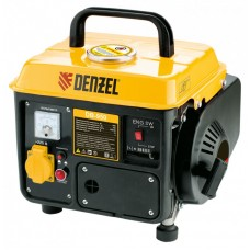 Генератор бензиновый DB950, 0.85 кВт, 220 В/50 Гц, 4 л, ручной пуск Denzel