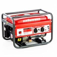 Генератор бензиновый LK 2500, 2,2 кВт, 230 В, бак 15 л, ручной старт Kronwerk