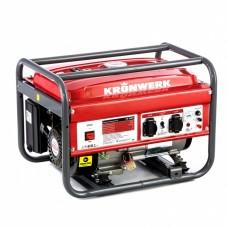 Генератор бензиновый LK 3500, 2,8 кВт, 230 В, бак 15 л, ручной старт Kronwerk