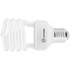 Лампа компактная люминесцентная, полуспиральная, 11 W, 4100K, E27, 8000ч Stern
