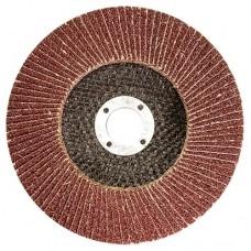 Круг лепестковый торцевой КЛТ-1, зернистость Р 80, 180 х 22,2 мм