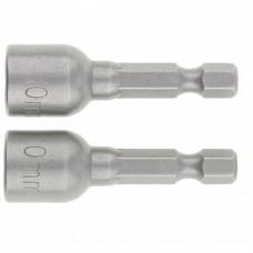 Биты с торцевыми головками10 мм, 45 мм, 2 шт. Matrix