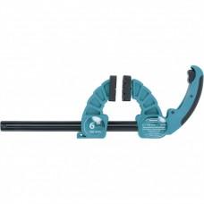 Струбцина реечная быстрозажимная, пластиковый корпус, рычажный храповой механизм, 18