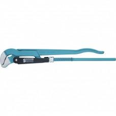 Ключ трубный рычажный 1,5, №2, цельнокованый, CrV, тип