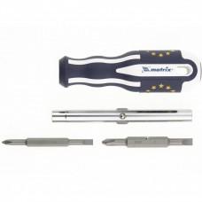 Отвертка комбинированная SL5/PH1, SL6/PH2, CrV, трехкомпонентная эргономичная ручка Matrix Master