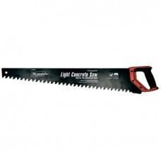 Ножовка по пенобетону, 500 мм, защитное покрытие, твердосплавные напайки на зубья, двухкомпонентная рукоятка Matrix
