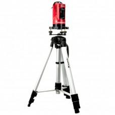 Уровень лазерный самовыравнивающийся, 150 мм, штатив 1150 мм, набор в пластиковом кейсе Matrix